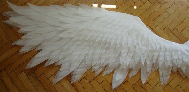 Как сделать крылья из картона в домашних условиях