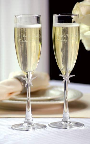 Главный свадебный напиток: шампанское!
