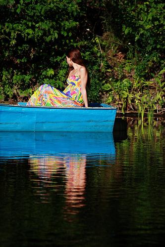 как плавать на весельной лодке