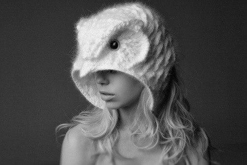 вот такую шапку-сову?