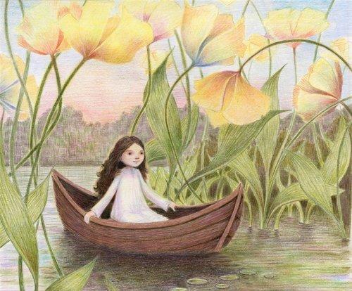 весна и лодка стихи